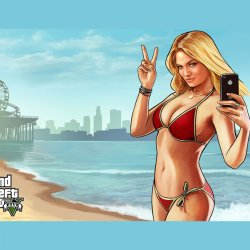 GTA V peace girl