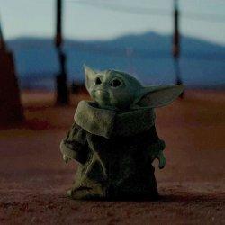 Baby Yoda Meme Generator Template