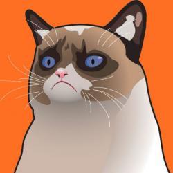 cartoon_grumpy_cat cartoon grumpy cat meme generator