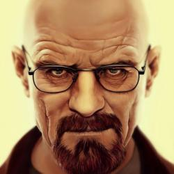 Walter White Breaking Bad. Gone Is The Mild Mannered School Teacher From  The Start Of The Series. We Now Have A Full Blooded Murderer And Gangster.